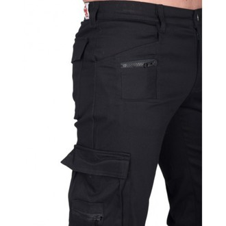 Männer Hose BLACK PISTOL - Combat Pants Denim - (Black), BLACK PISTOL