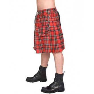 Kilt Men BLACK PISTOL - Eye Kilt Tartan - (Black), BLACK PISTOL