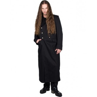 Männer Mantel BLACK PISTOL - Army Coat Denim - BLACK, BLACK PISTOL