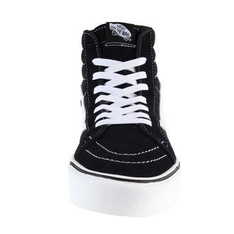 Männer Schuhe VANS - U SK8-Hi Lite (Suede/Canvas) - BLACK/WHITE, VANS