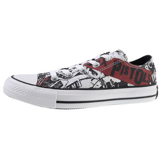 Schuhe CONVERSE - Sex Pistols - Chuck Taylor All Star - CTAS Ox White/Black