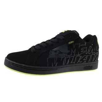 Männer Schuhe ETNIES - Metal Mulisha - Fader - Black/Black, METAL MULISHA