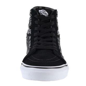 Schuhe VANS - U SK8-Hi Reissue - Bandana Stitch - Blk / Tr Wht, VANS