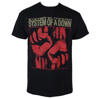 Männer Shirt System Of A Down - Fistacuff - ROCK OFF, ROCK OFF, System of a Down