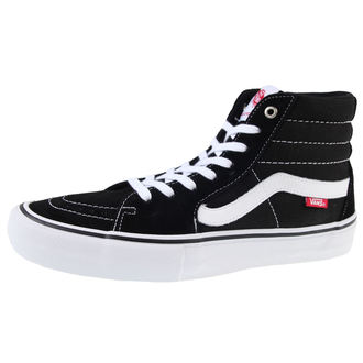 Männer Schuhe VANS - SK8-HI Pro - Black/White, VANS