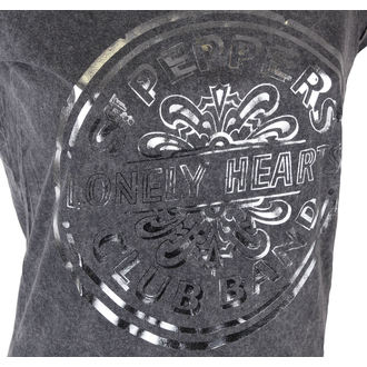 Damen T-Shirt The Beatles - Pepper Drum - ROCK OFF, ROCK OFF, Beatles