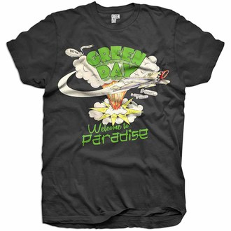 Kinder Metal T-Shirt Green Day Welcome To Paradise ROCK OFF GDMMTS01B, ROCK OFF, Green Day