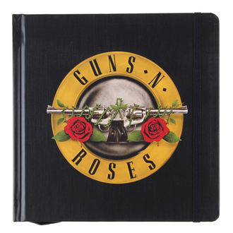 Notizblock Guns N' Roses - Classic Logo - ROCK OFF, ROCK OFF, Guns N' Roses
