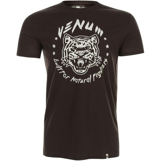 Herren T-Shirt VENUM - Natural Fighter - Tiger - Brown, VENUM