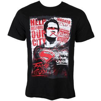Herren T-Shirt Batman Vs Superman - Superman Anti-Hero - Black - LEGEND, LEGEND