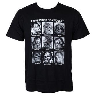 Herren T-Shirt Star Wars - Expression Of a Wookie - Black - LEGEND, LEGEND