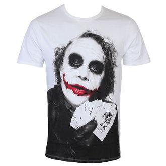 Herren T-Shirt Batman - Joker Poker - White - LEGEND, LEGEND