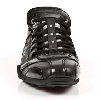 Schuhe NEW ROCK - ITALI NEGRO, BOX FLUGZEUG, NEW ROCK