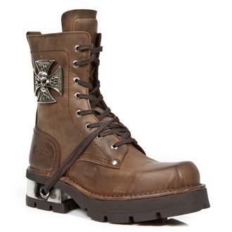 Schuhe NEW ROCK - VENTURE AVIADOR Marrone M3 ACERO ORIF, NEW ROCK