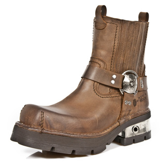 Schuhe NEW ROCK - VENTURE AVIADOR - Marrone, NEW ROCK