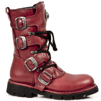 Schuhe NEW ROCK - NATURE ROJO, PLANING, NEW ROCK