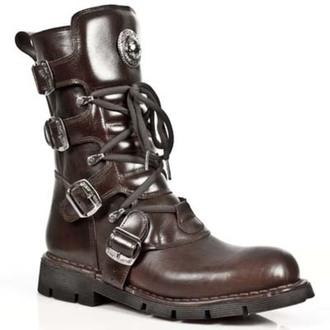 Schuhe NEW ROCK - PLANING Marrone SIN, NEW ROCK