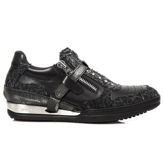 Schuhe NEW ROCK - FLORAL DENIM NEGRO, NEW ROCK