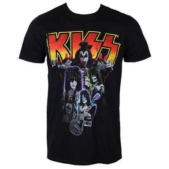 Herren T-Shirt KISS - Neon Band - PLASTIC HEAD, PLASTIC HEAD, Kiss