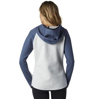 Sweatshirt Damen FOX - einreden - Light Heather Grey, FOX