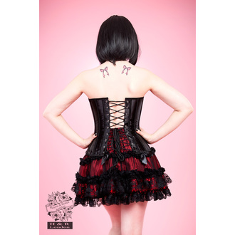 Korsett Damen HEARTS AND ROSES - Black Lace, HEARTS AND ROSES