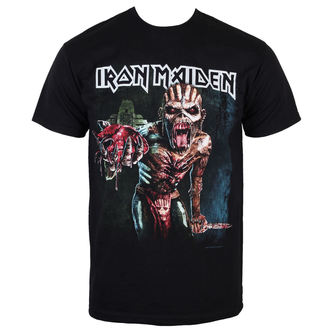 T-Shirt Männer  Iron Maiden - Book of seelen Euro Tour 2016 - ROCK OFF - IMTEE50MB