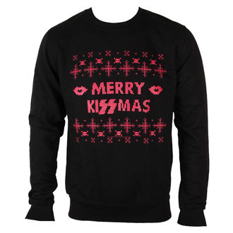 Männer Hoodie KISS - Merry Kissmas - PLASTIC HEAD, PLASTIC HEAD, Kiss