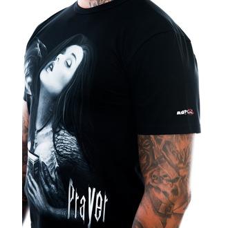 Herren T-Shirt ART BY EVIL - Praver - Black, ART BY EVIL