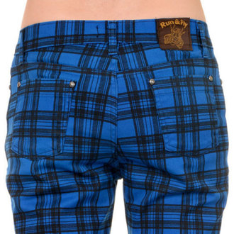 (unisex) Hose 3RDAND56th - Checked - Black/Royal