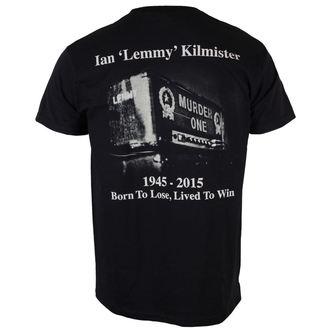 Herren T-Shirt Motörhead - Lemmy Lived To Win - ROCK OFF, ROCK OFF, Motörhead