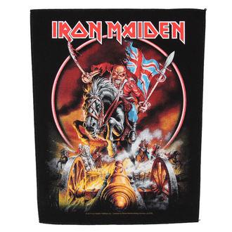 Aufnäher  groß Iron Maiden - Maiden England - RAZAMATAZ, RAZAMATAZ, Iron Maiden