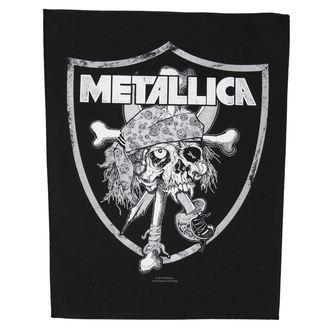 Aufnäher  groß Metallica - Raiders Skull - RAZAMATAZ, RAZAMATAZ, Metallica