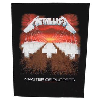 Aufnäher  groß Metallica - Master Of Puppets - RAZAMATAZ, RAZAMATAZ, Metallica