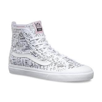 Schuhe Damen VANS - Dazi-HAL LO (Leila) TR - Wht / bbl Pink, VANS