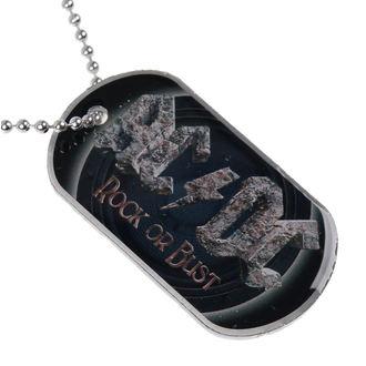 Erkennungsmarke (Hundemarke) AC/DC - Rock Or Bust - RAZAMATAZ, RAZAMATAZ, AC-DC