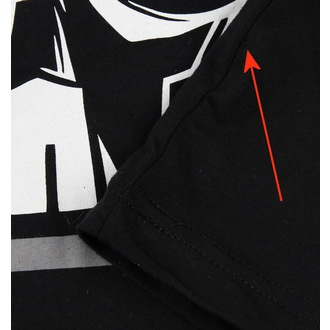 T-Shirt Männer  Akumu Ink - Skull13 - Grey- BESCHÄDIGT, Akumu Ink