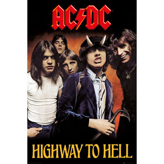 Poster AC/DC - Higway To Hell - GB posters, GB posters, AC-DC