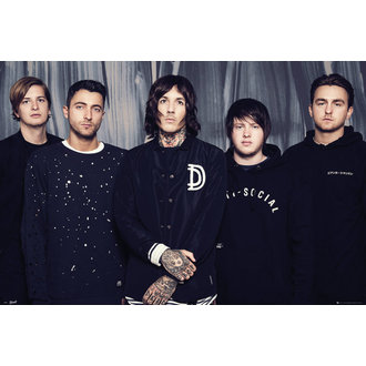Poster Bring Me The Horizon - Umbrella - GB posters, GB posters, Bring Me The Horizon