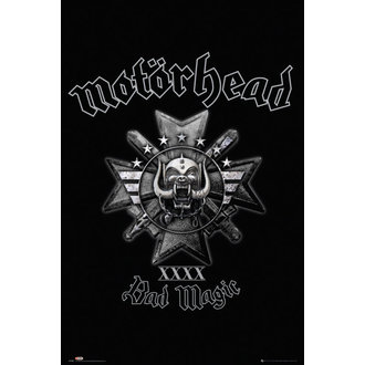 Poster Motörhead - Bad Magic - GB posters, GB posters, Motörhead