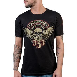 Herren T-Shirt WORNSTAR - Halo - Black, WORNSTAR