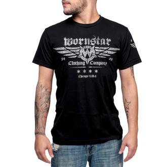 Herren T-Shirt WORNSTAR - Machine Shop - Black, WORNSTAR