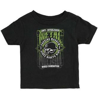 T-Shirt Kinder METAL MULISHA - WEST, METAL MULISHA