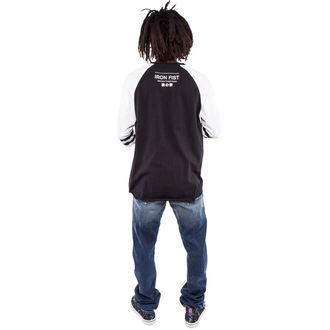 Herren T-Shirt mit 3/4-Arm IRON FIST - Face Melter - Graphic - Black/White, IRON FIST