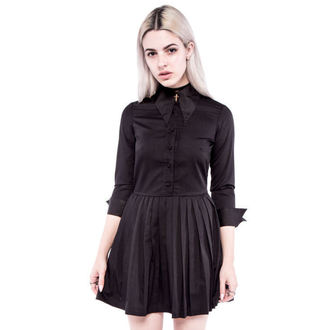 Frauen Kleid IRON FIST - Haunted - Black, IRON FIST