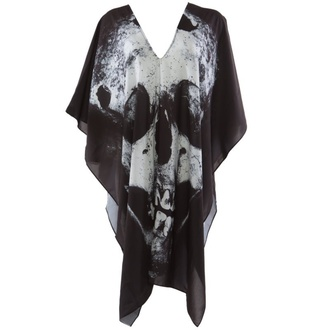 Damen T-Shirt  (Poncho) IRON FIST - Loose Tooth - Black, IRON FIST