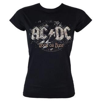 Damen T-Shirt  AC/DC - Rock Or Bust - LOW FREQUENCY, LOW FREQUENCY, AC-DC