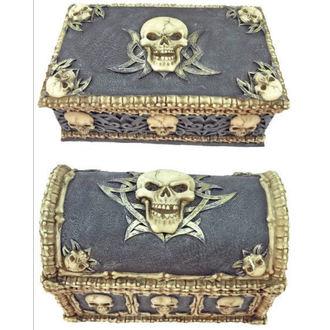 Dekoration (Set schachteln) Skull