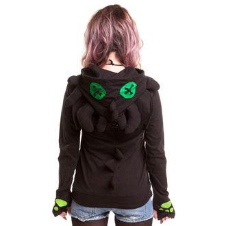Damen Hoodie CUPCAKE CULT - Voodoo Dragon - Black, CUPCAKE CULT