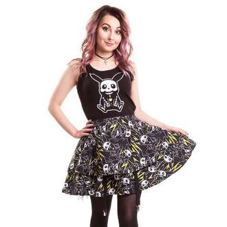 Frauen Kleid CUPCAKE CULT - Thunder Skater - Black, CUPCAKE CULT