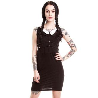 Frauen Kleid HEARTLESS - Wednesday - Black - POI052